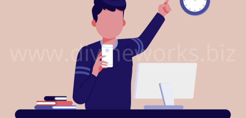 Download Free Study Man Vector Illustration by Divine Works