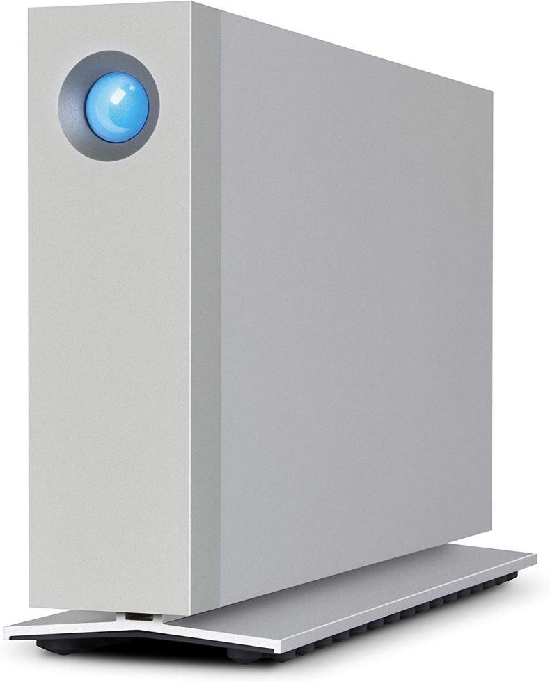LaCie d2 Thunderbolt 3 6TB External Hard Drive Desktop HDD