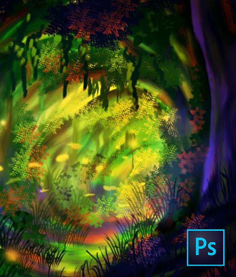Learn Digital Painting From Scratch With Photoshop