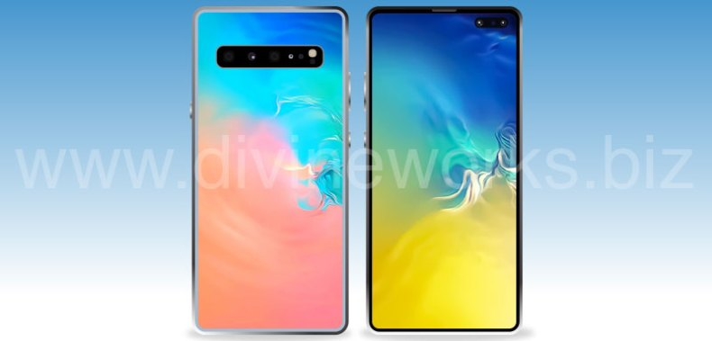 Download Free Samsung Galaxy S10 Plus Vector by Divine Works
