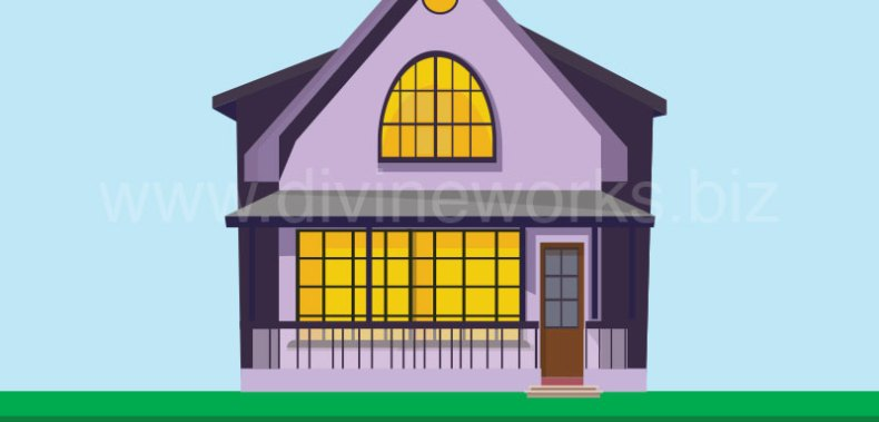 Download Free Vector House Illustration by Divine Works