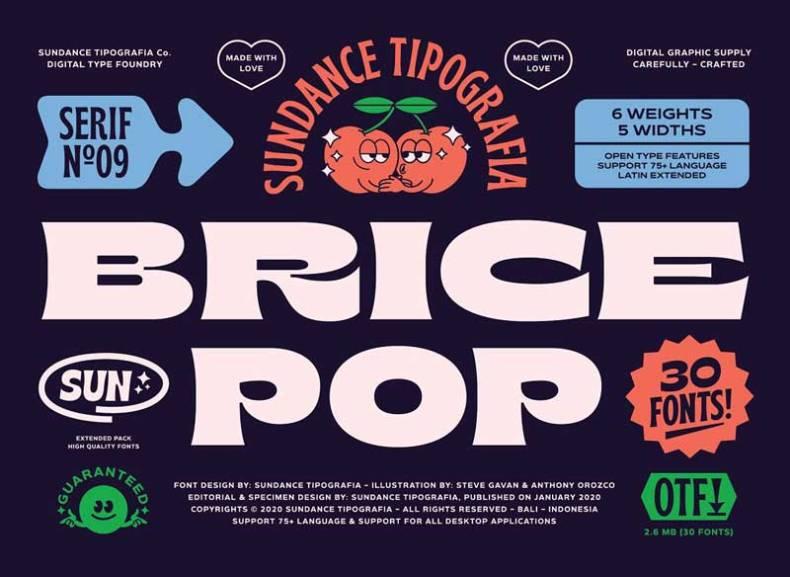 Brice Font Family