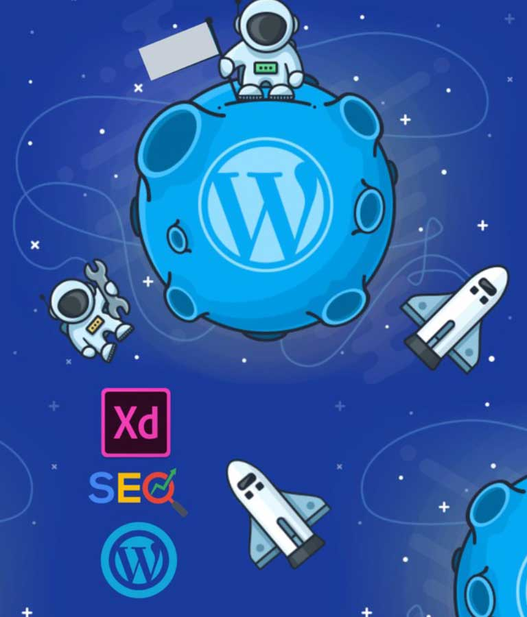 3 in 1 course Website Design With Adobe XD WordPress and SEO