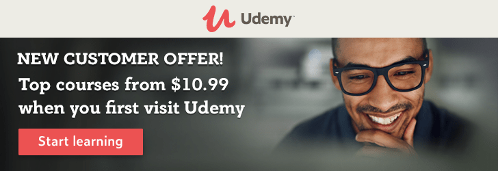 Discounted Udemy Courses