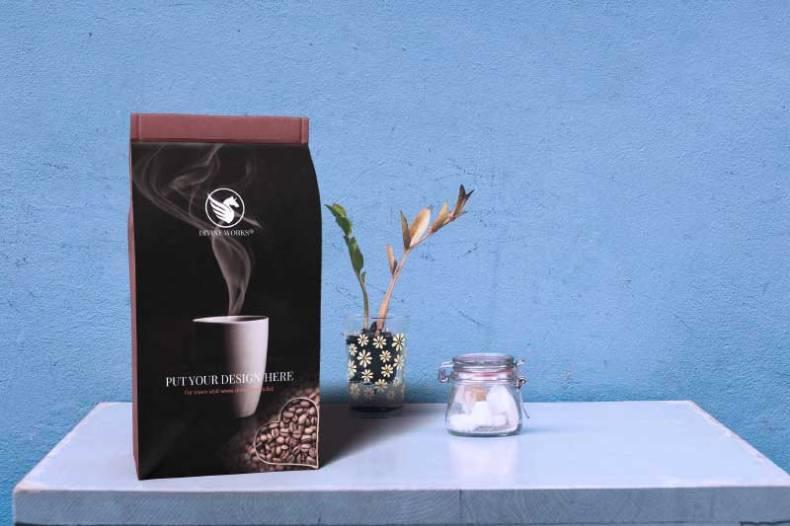 Download Free Coffee Packaging Mockup at Divine Works