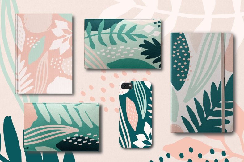 Seamless Vector Patterns and Design Elements