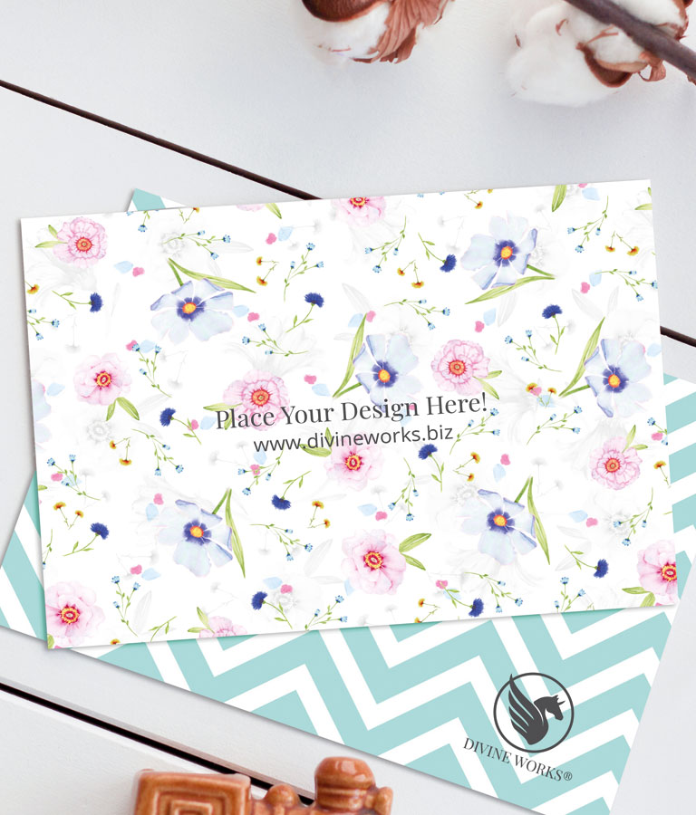 Free Greeting Cards Mockup by Divine Works