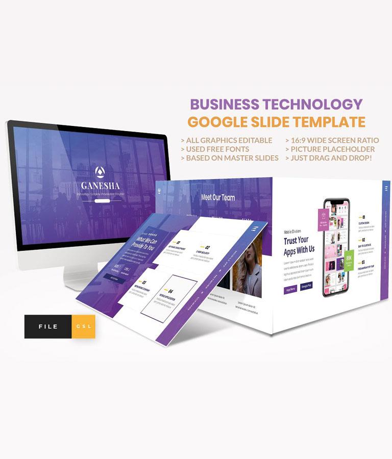 Business – Technology Google Slide