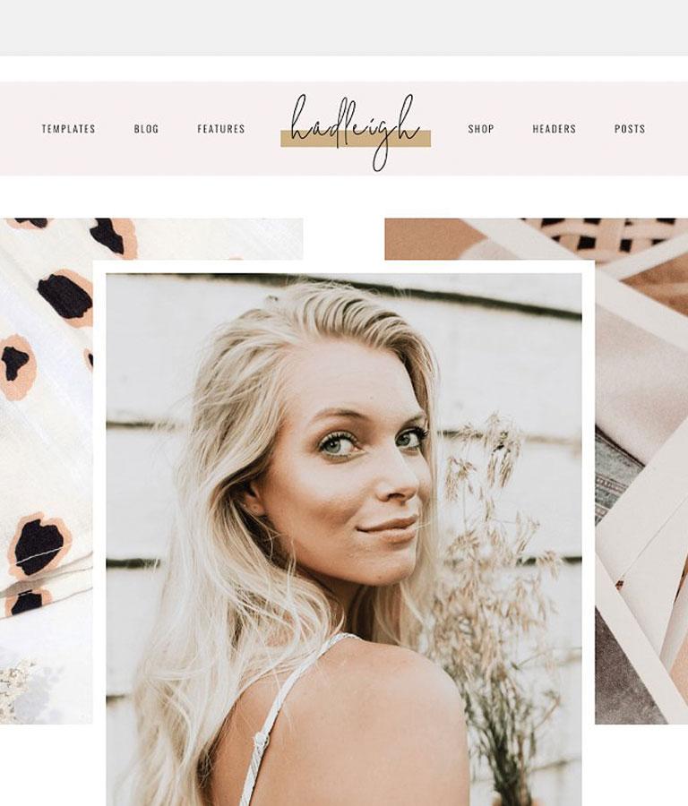 Hadleigh – A Blog & Shop Theme