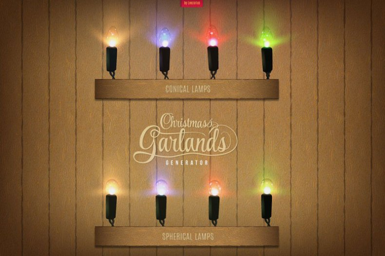 Christmas Garlands Generator