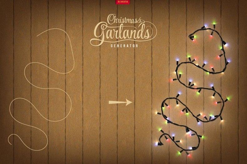 Christmas Garlands Generator