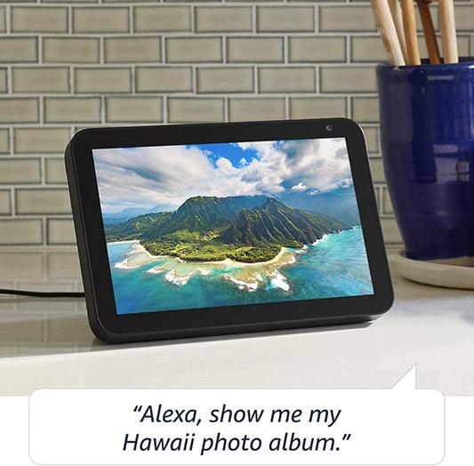 Echo Show 8 HD smart display with Alexa