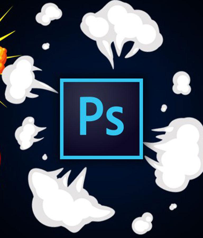 2D Explosion Animations Make Cartoony VFX in Photoshop