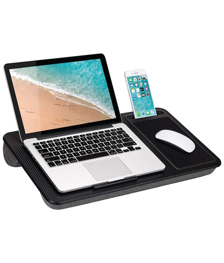 LapGear Home Office Lap Desk with Device Ledge
