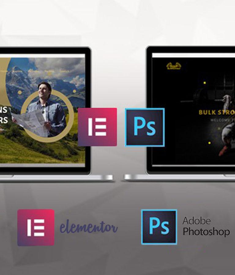 Modern WordPress Websites 2021 Elementor & Adobe Photoshop