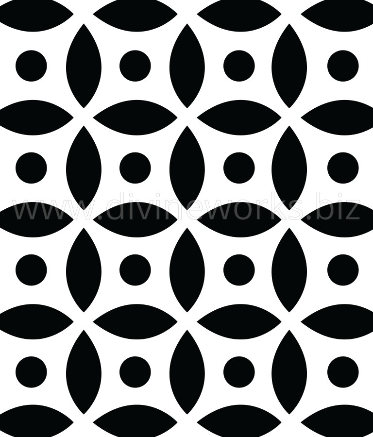 Download Free Geometric Vector Pattern by Divine Works