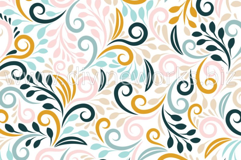 Download Free Seamless Floral Pattern Vector by Divine Works