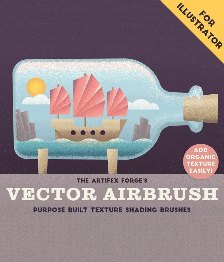 The Vector Airbrush – Shader Brushes