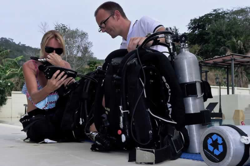 Rebreather Course Thailand