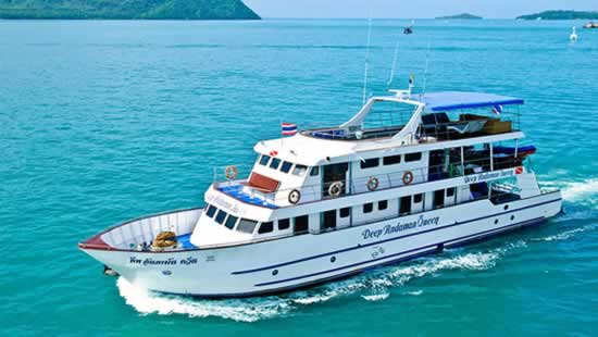 MV Deep Andaman Queen - A Thailand Liveaboard