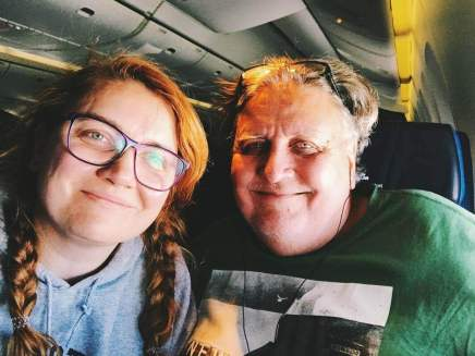 Fast am Ziel: 11 Stunden Flug nach Quito