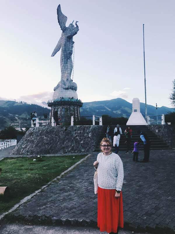 Quito's Madonna (La Virgen de Quito)