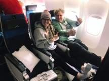 Comfort Economy Class in der KLM