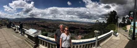 Cuenca von oben (Aussicht von der Church of Turi)