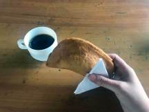 Empanadas und Galapagos-Kaffee in der Ranch