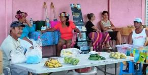 Market in Huahine