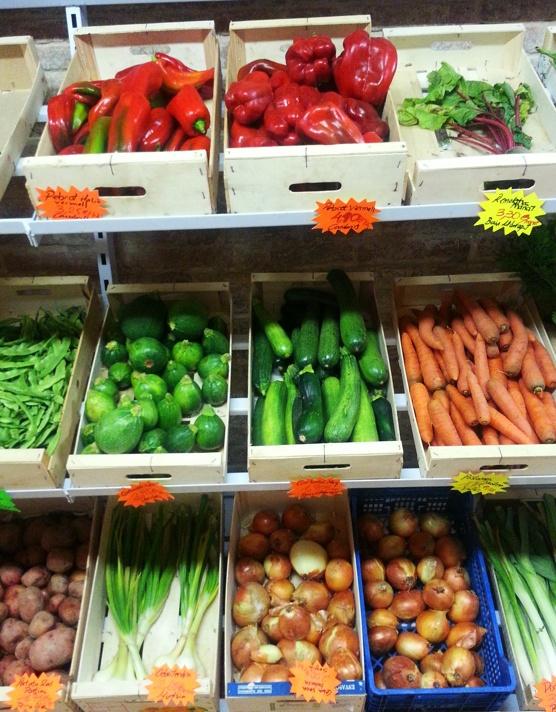Verduras de proximidad