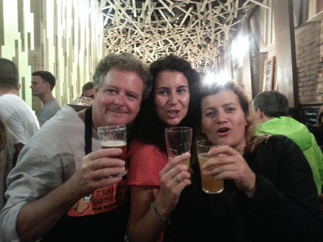Juan Luis Cano, Lola Carrasco y Gema E Santiago