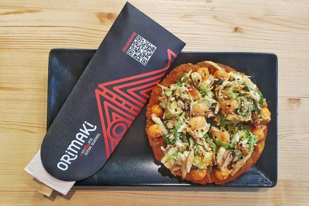 Sushi Pizza - Orimaki