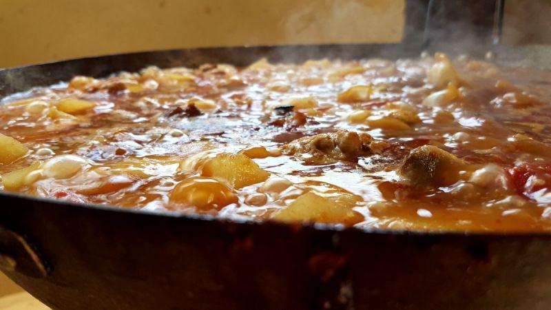 Recetas de cuchara-Patatas Riojana