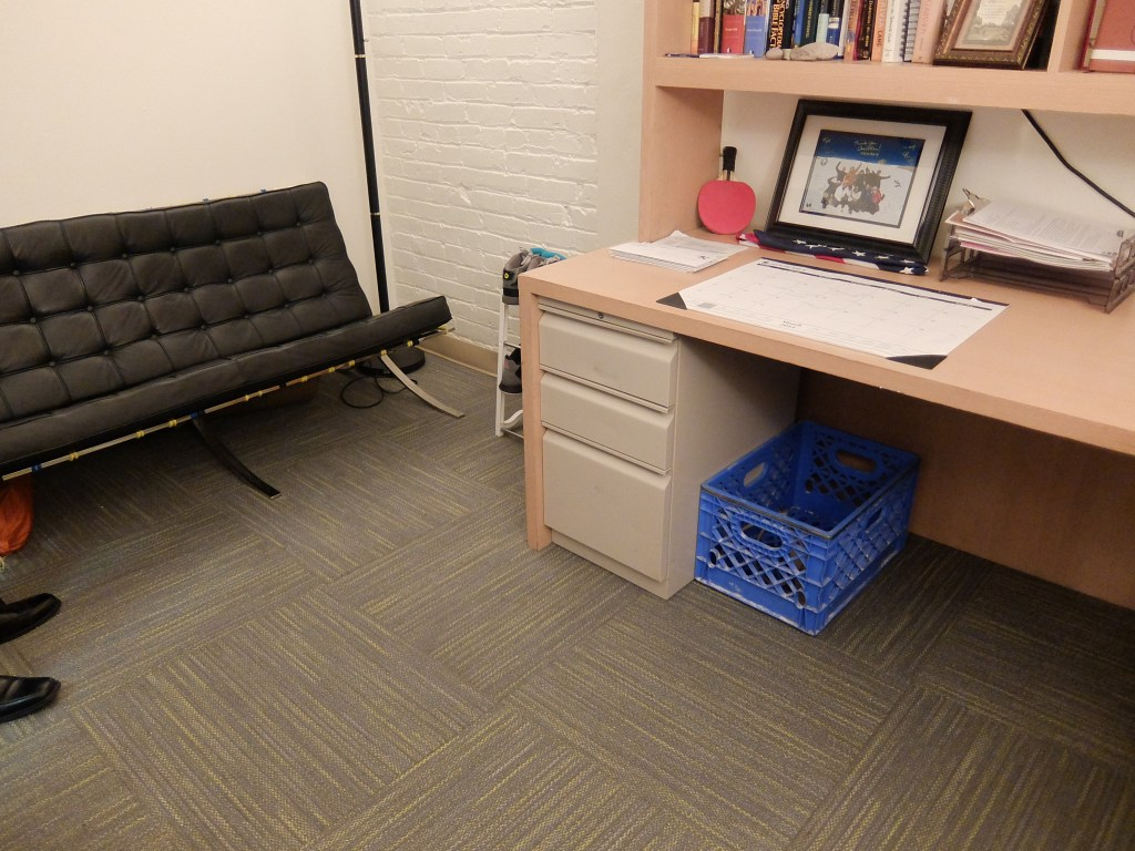 New carpeting led to painted walls at Union Gospel Mission