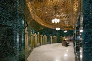Exchange Building Lobby Elevators