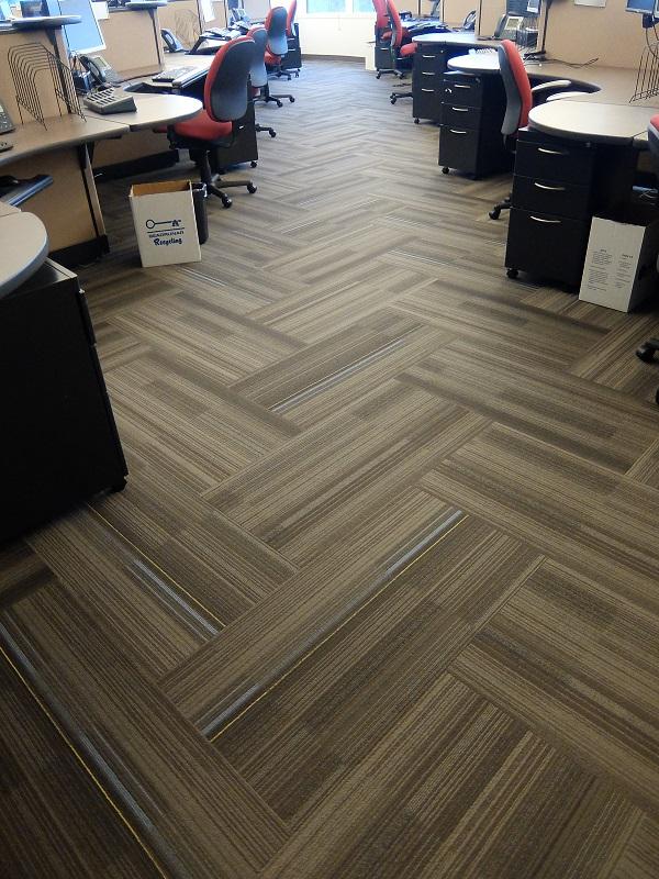 Healthways in Bellevue gets new flooring from Division 9