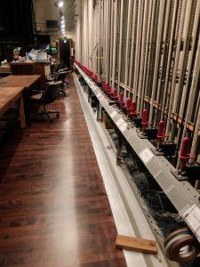 University of Washington's Many Hall gets new stage floor