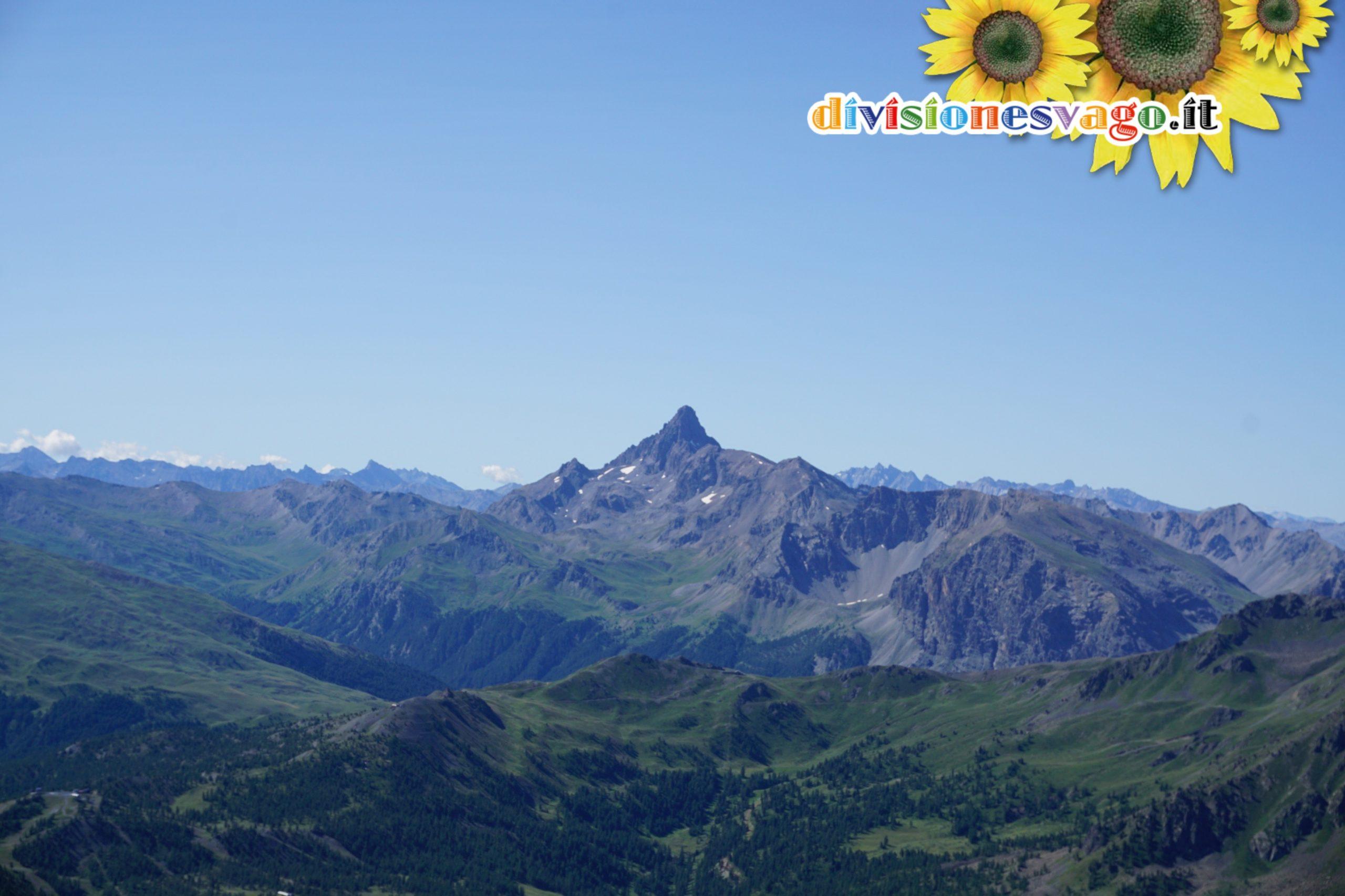 Pic de Rochebrune dal Monte Chaberton