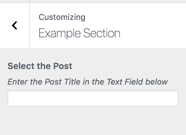 Selecting a Post using Post Title with the help of AJAX from