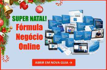 Fórmula Negócio Online Super Natal