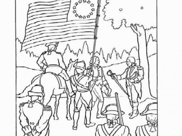 american revolution coloring pages # 44