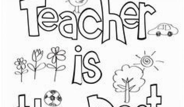 teacher appreciation coloring pages # 31