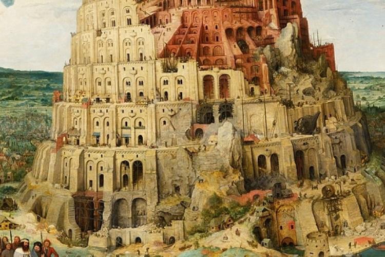 La tour de Babel, Brueghel l'Ancien