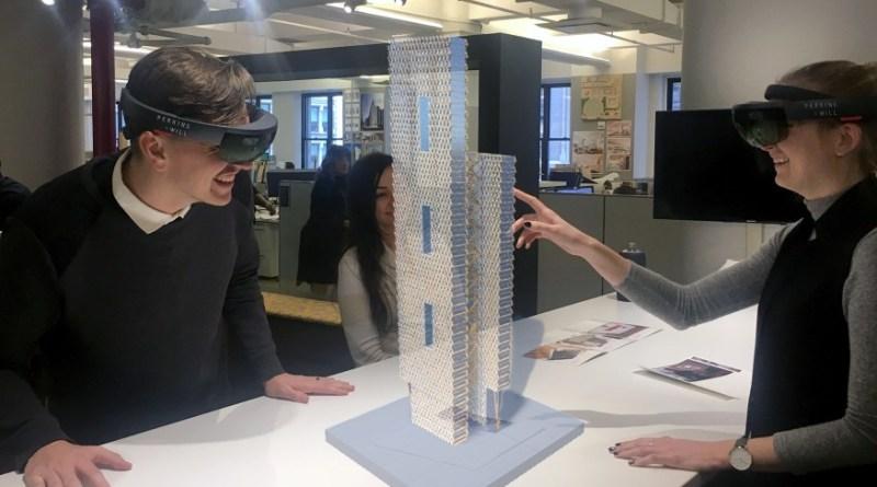 النمذجة الواقعية في العمارة والعمران