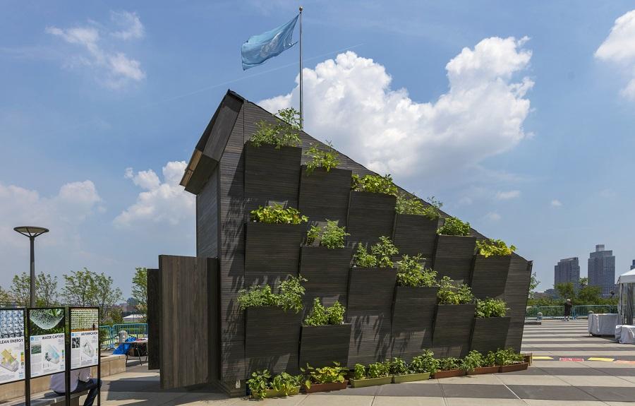 منزل صغير مستدام