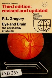 Eye and Brain The Psychology of Seeing او العين والعقل