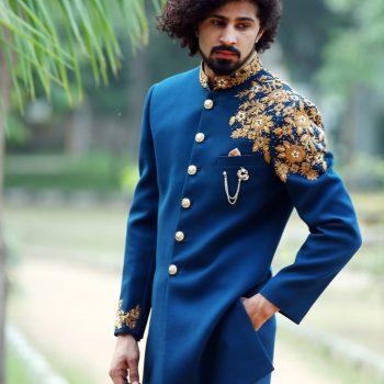 latest menswear indo western