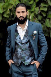 latest three piece suit for men