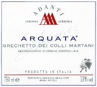 Grechetto dei Colli Martani 2011, Adanti (Italy)